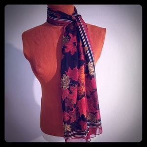 Eleanor Paine Canadian Maple Leaf Scarf